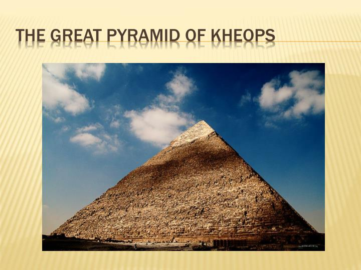 The Great Pyramid of