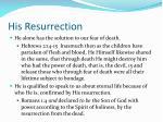 his resurrection1