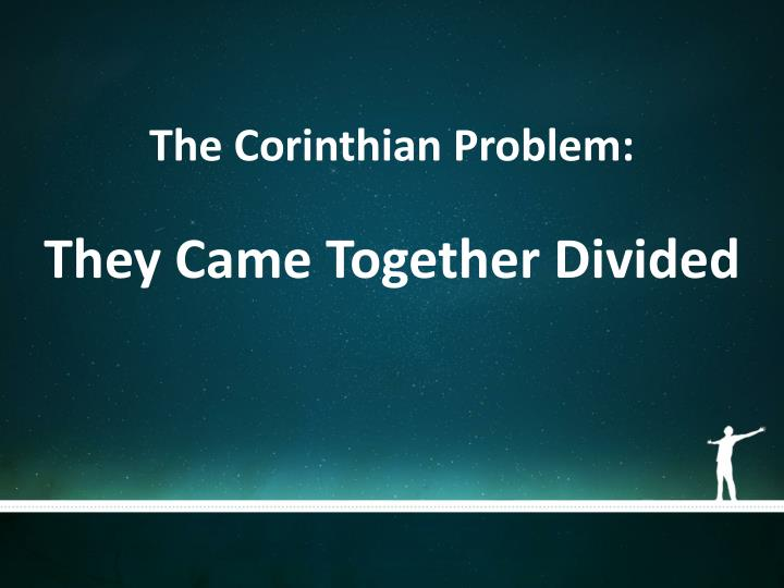 The Corinthian Problem: