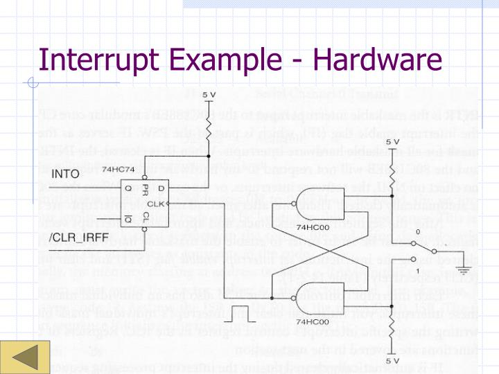 Interrupt Example - Hardware
