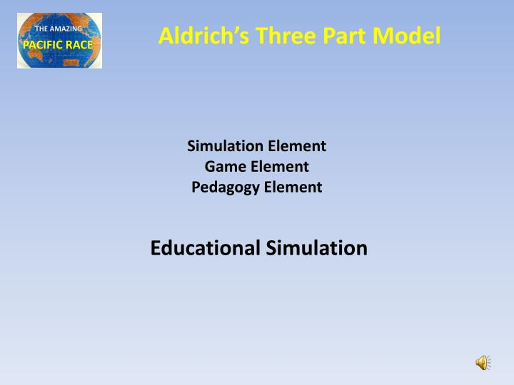 Aldrich's Three Part Model