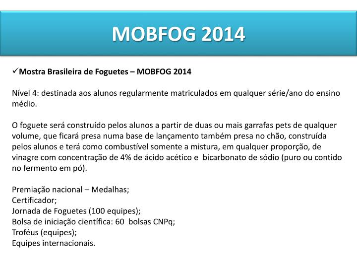 MOBFOG 2014