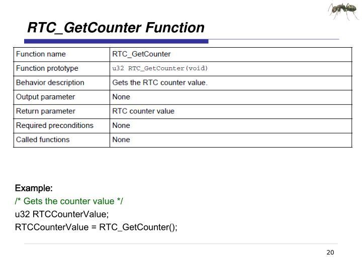 RTC_GetCounter