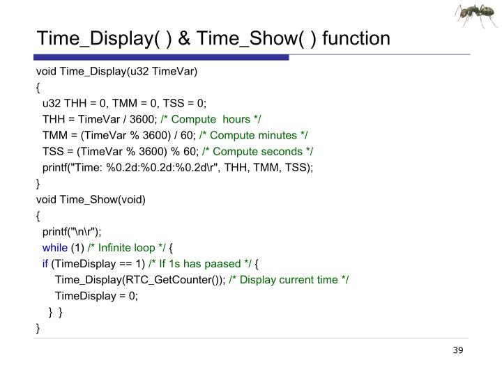 Time_Display