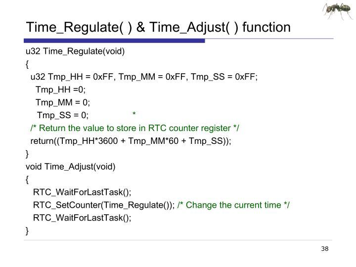 Time_Regulate