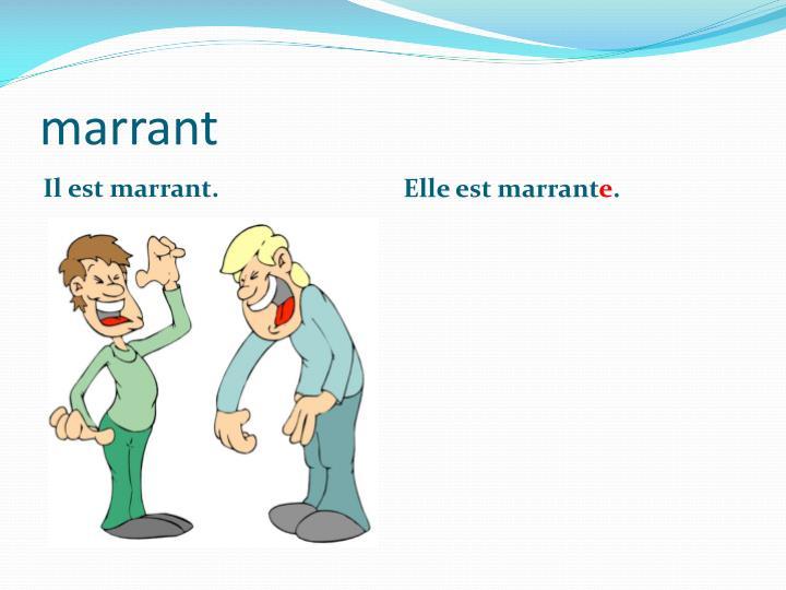 marrant