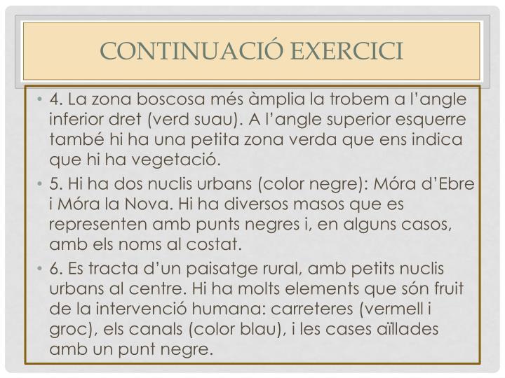 Continuació exercici