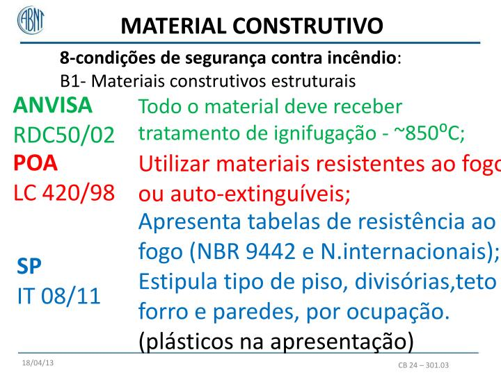 MATERIAL CONSTRUTIVO