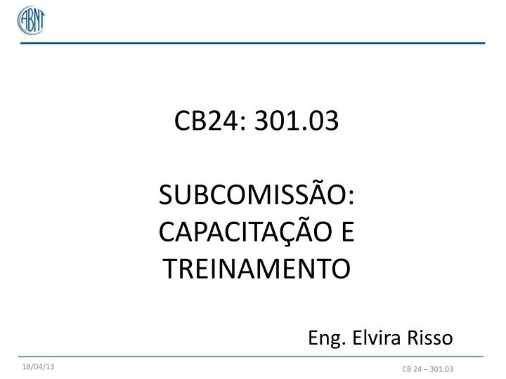 CB24: 301.03