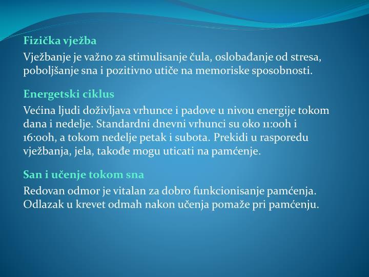 Fizička vježba