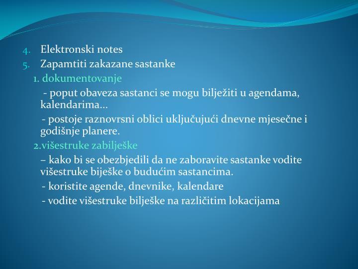 Elektronski notes
