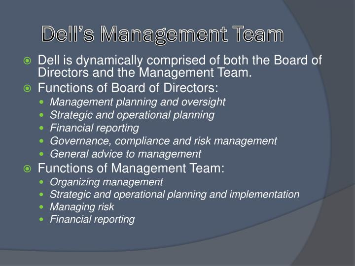 Dell's Management Team