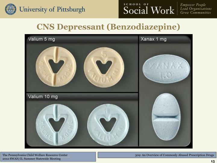 CNS Depressant (Benzodiazepine)