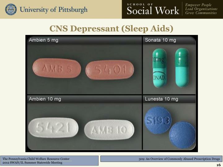 CNS Depressant (Sleep Aids)