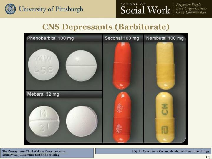 CNS Depressants (Barbiturate)
