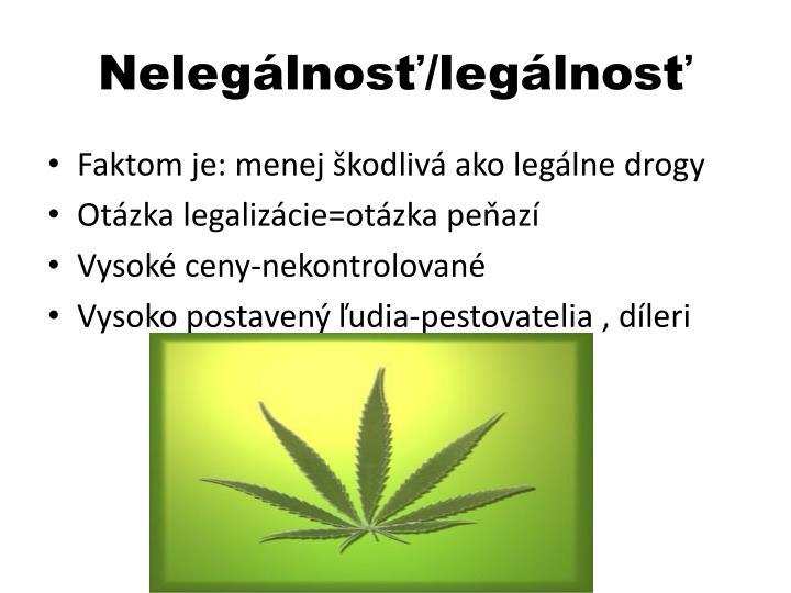 Nelegálnosť/legálnosť
