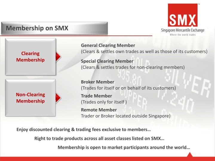 Membership on SMX