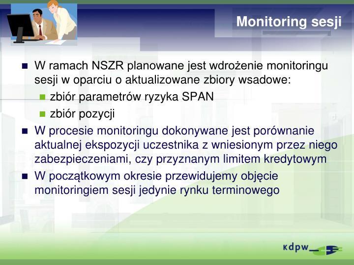 Monitoring sesji