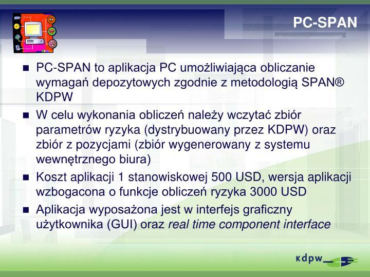PC-SPAN