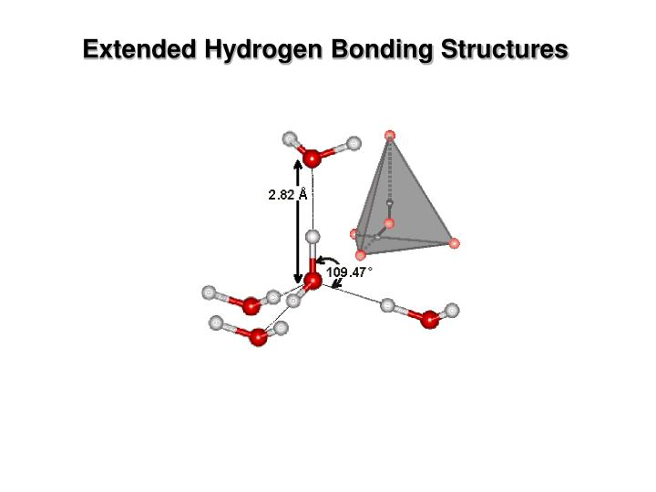 Extended Hydrogen Bonding Structures