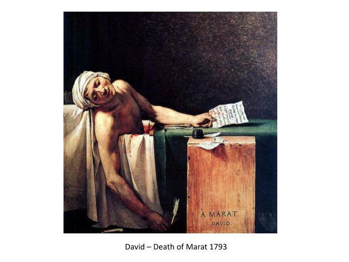 David – Death of
