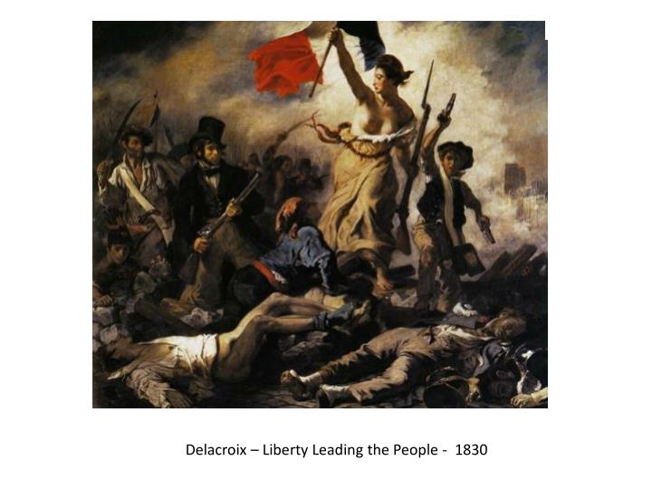 Delacroix – Liberty Leading the