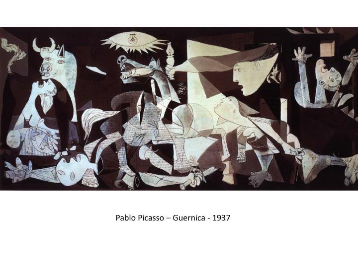 Pablo Picasso – Guernica - 1937