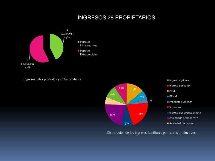 INGRESOS 28 PROPIETARIOS