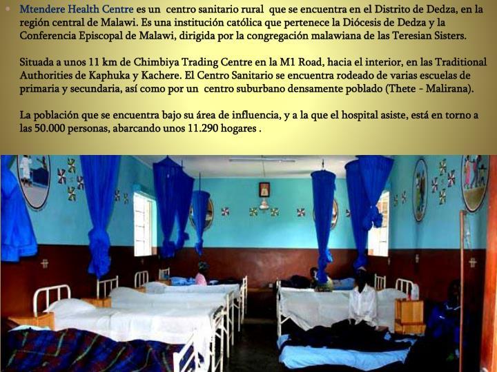 Mtendere Health Centre