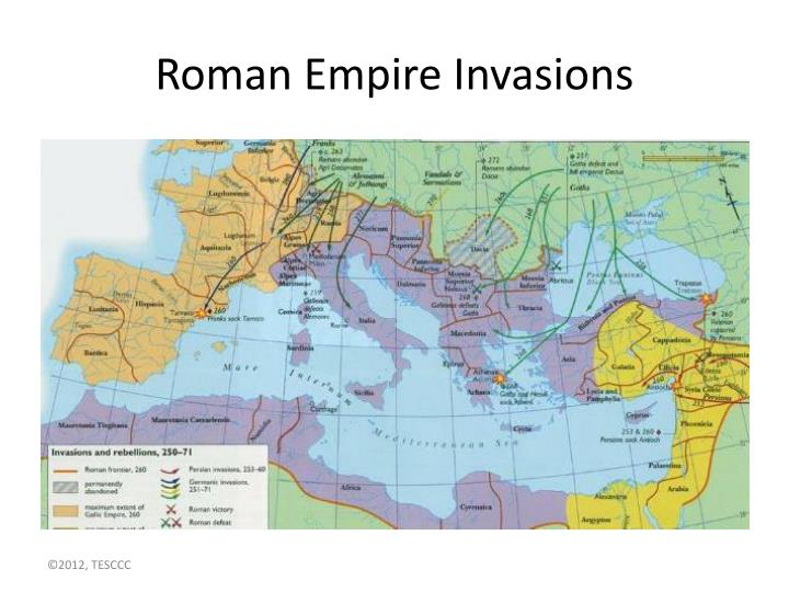 Roman Empire Invasions