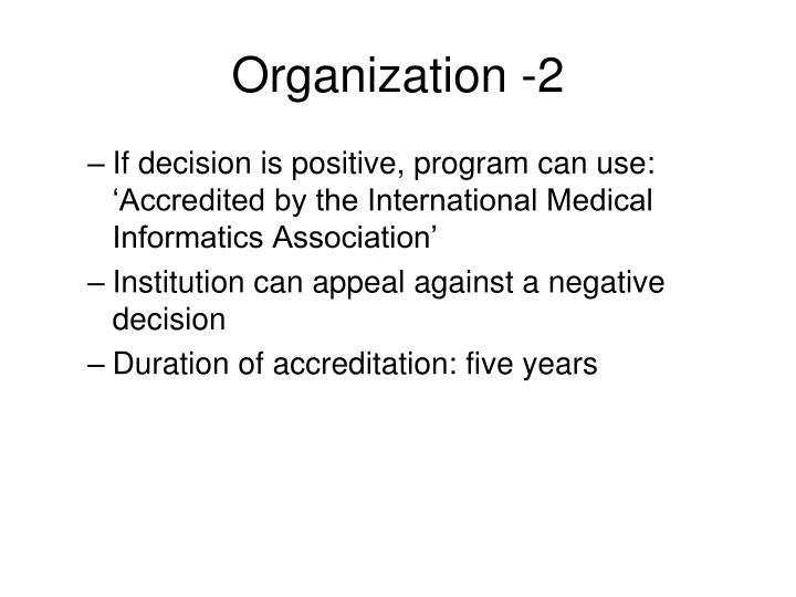 Organization -2