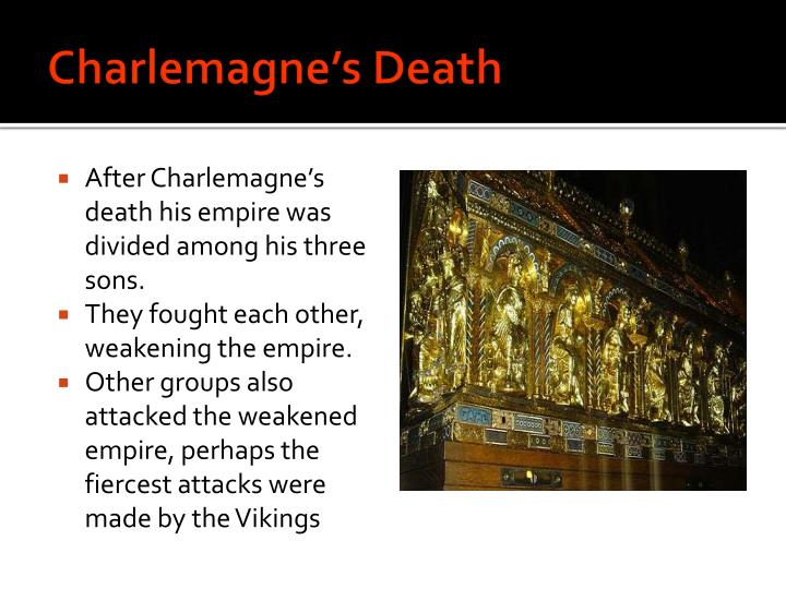 Charlemagne's Death
