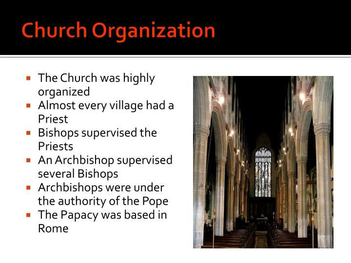 Church Organization