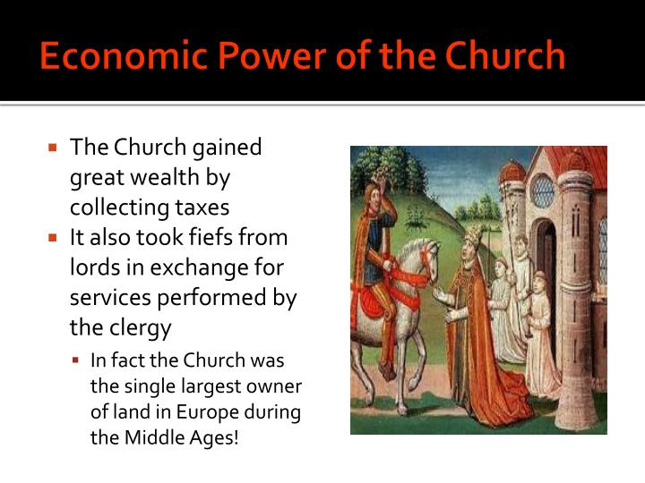 Economic Power of the Church