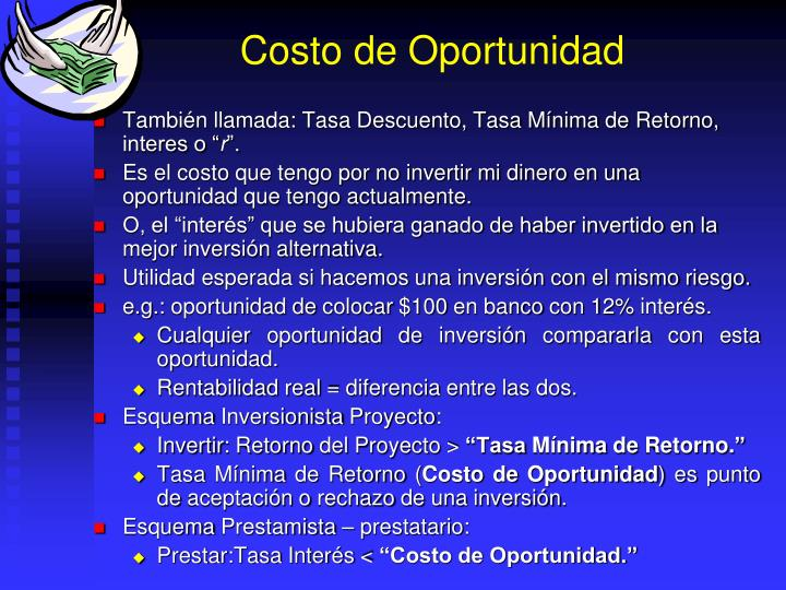 Costo de Oportunidad