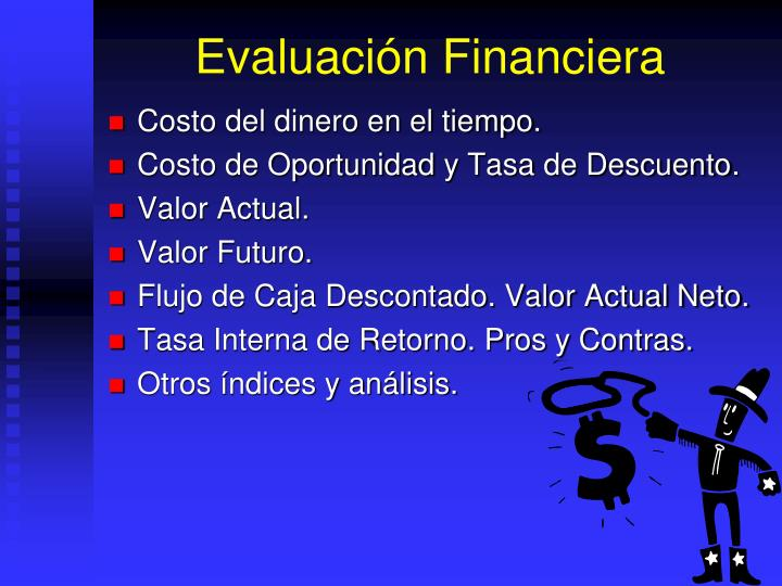Evaluaci n financiera