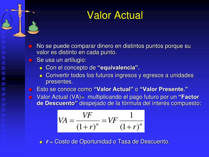 Valor Actual