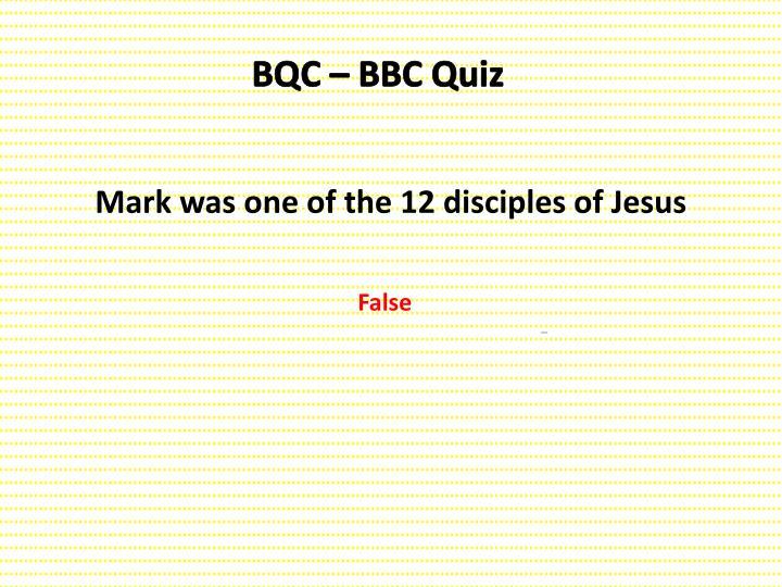 BQC – BBC Quiz