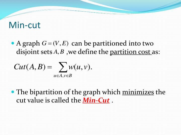 Min-cut