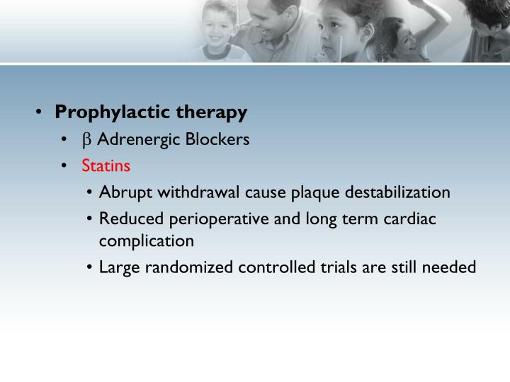 Prophylactic therapy