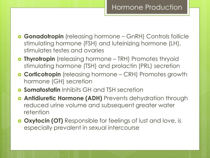 Hormone Production