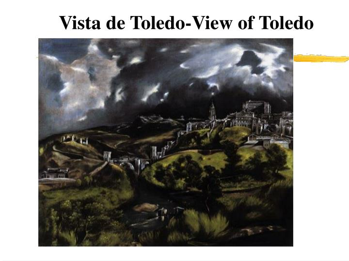 Vista de Toledo-View of Toledo