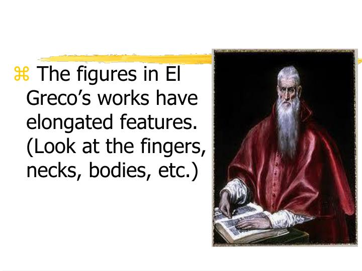 The figures in El