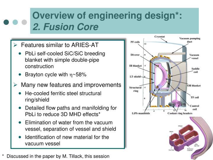 Overview of engineering design*: