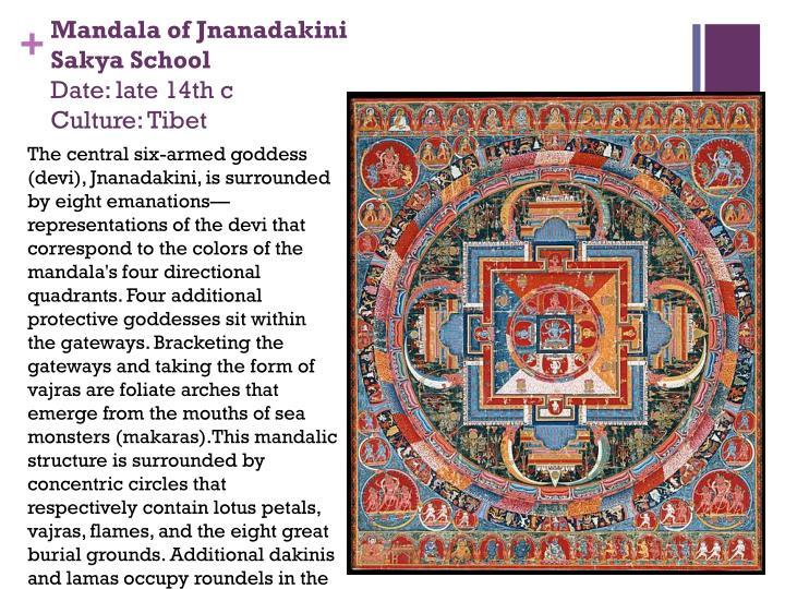 Mandala of Jnanadakini