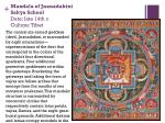 mandala of jnanadakini sakya school date late 14th c culture tibet