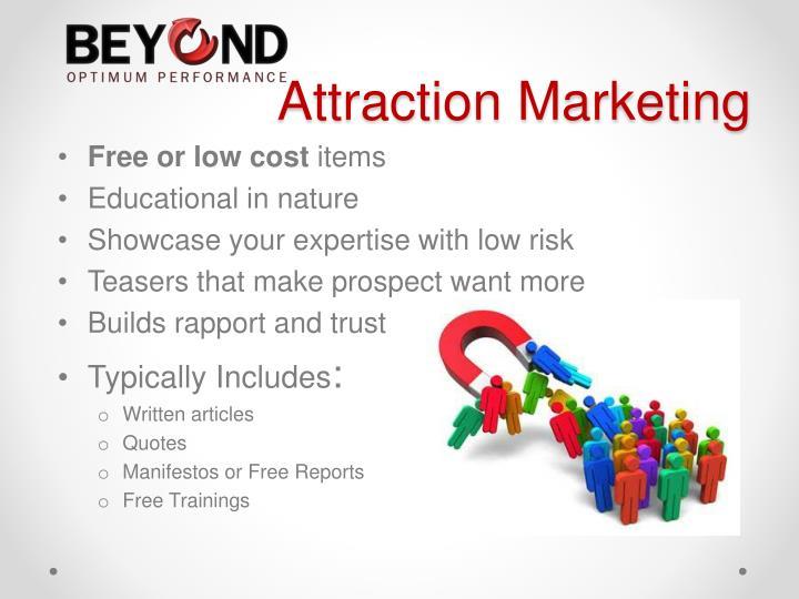 Attraction Marketing