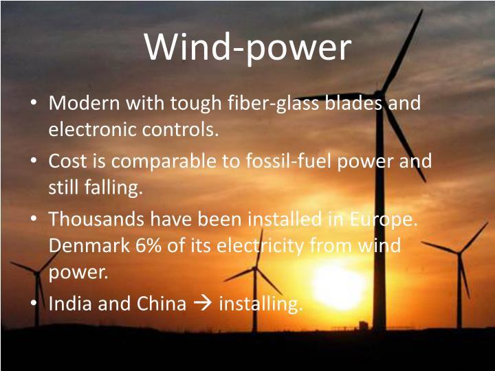 Wind-