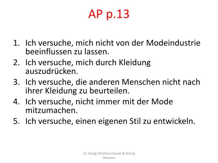 AP p.13