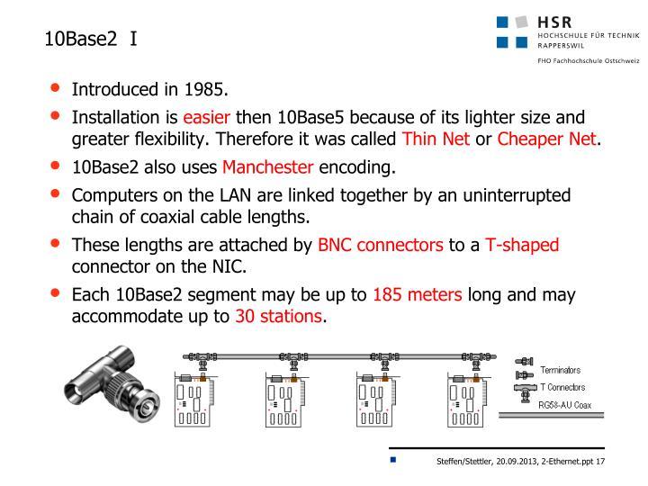 10Base2  I